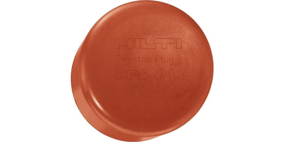 Hilti firestop plugs CFS